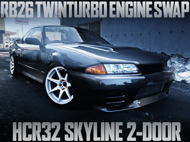RB26 TWIN TURBO HCR32 SKYLINE