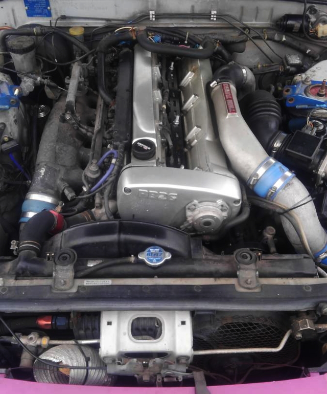 RB26 TWINTURBO ENGINE FROM HCR32