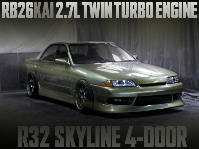 RB26 2700cc TWIN TURBO R32 SKYLINE 4-DOOR