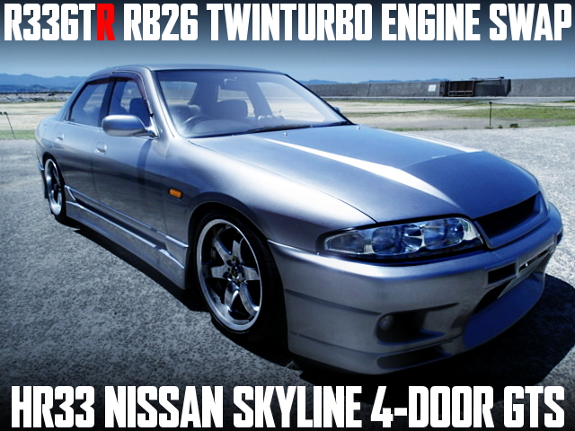 RB26 TWIN TURBO HR33 SKYLINE 4-DOOR
