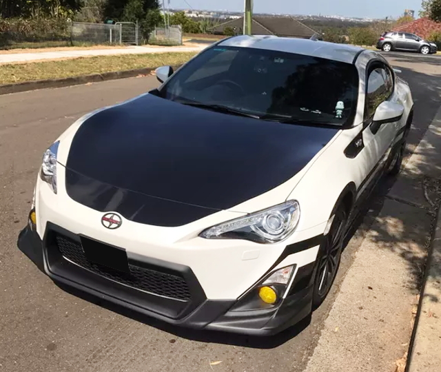 FRONT FACE TOYOTA86