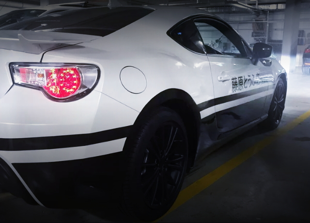 BACK SIIDE ZN6 TOYOTA86