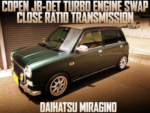 JB-DET SWAP L700S MIRAGINO