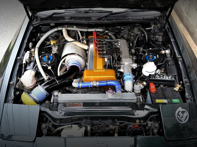 1JZ-GTE ENGINE WITH GT3040 TURBO