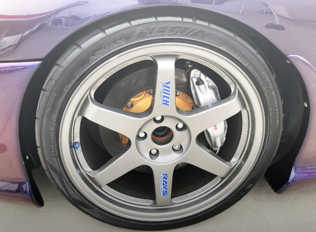 TE37 WHEEL FOR JZA80 SUPRA