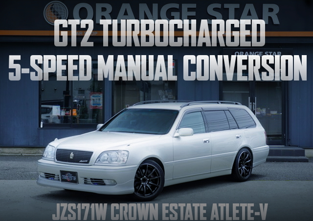 GT2 TURBINE 5MT JZS171W CROWN