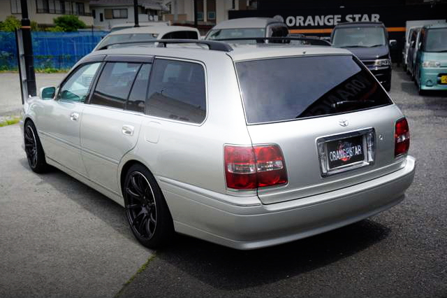 REAR EXTERIOR JZS171W CROWN ESTATE