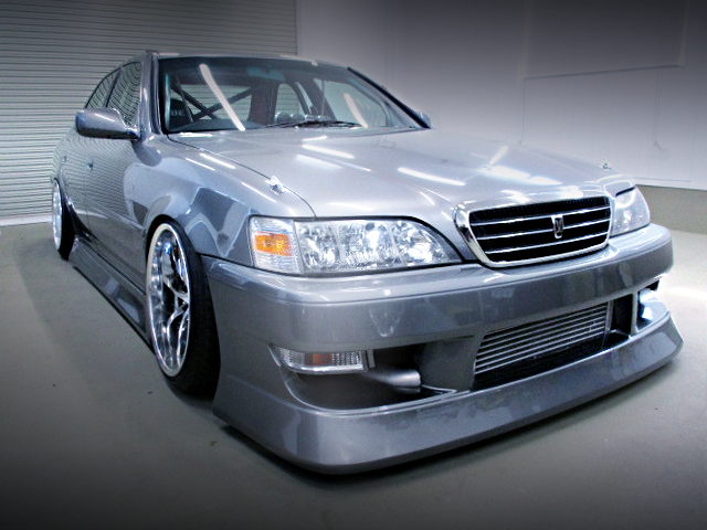 FRONT FACE JZX100 CRESTA SILVER