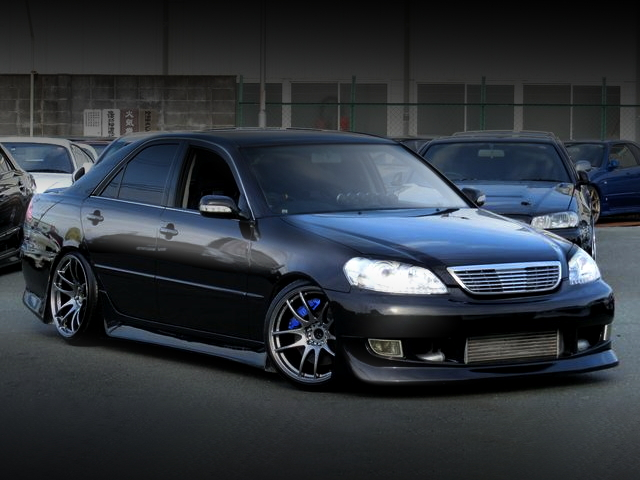 FRONT FACE JZX110 MARK2 BLACK