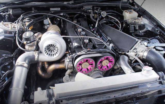 2JZ-GE WITH GTX3582R TURBINE