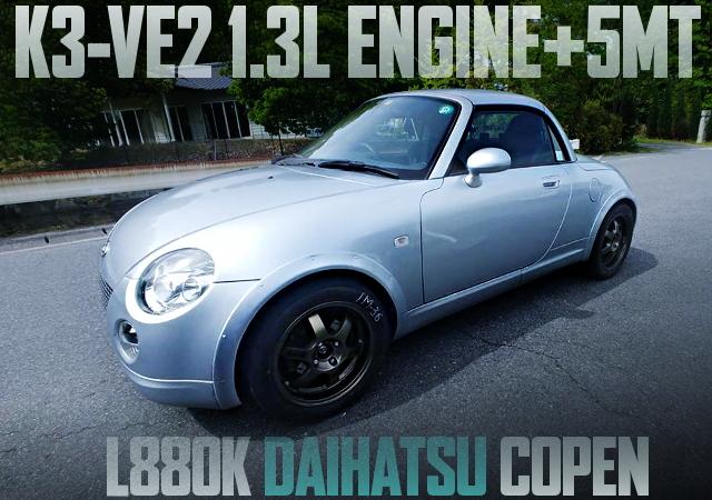 K3-VE2 1300cc ENGINE COPEN