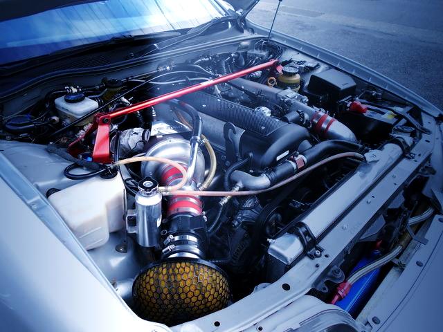 1JZ-GTE ENGINE WITH RX6 TURBO