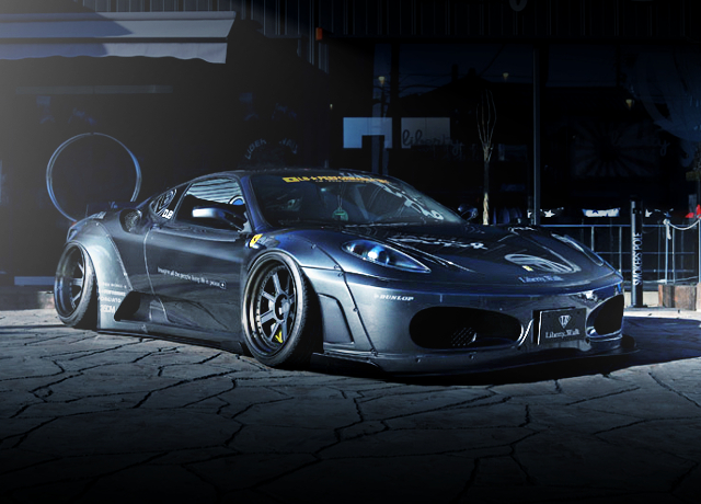 FRONT EXTERIOR LB-WORKS F430