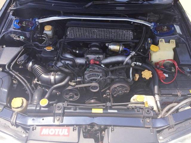 EJ25 2500cc BOXER TURBO ENGINE