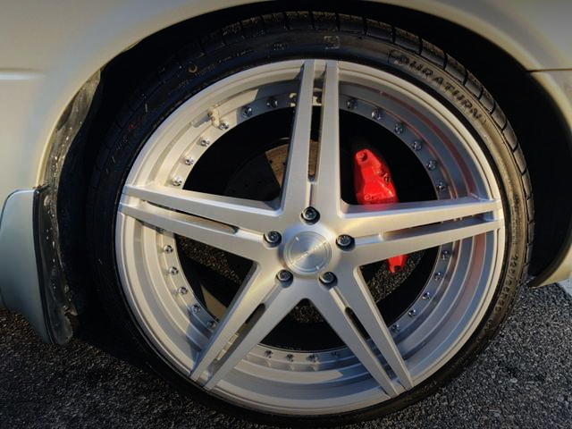 FRONT 20-INCH WHEEL