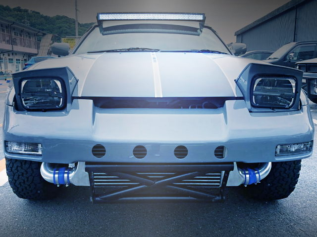 FRONT FACE LIFTED 180SX