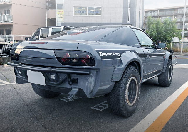 LIFTED 180SX GRAY COLOR