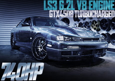 LS3 6.2L V8 TURBO S14 200SX
