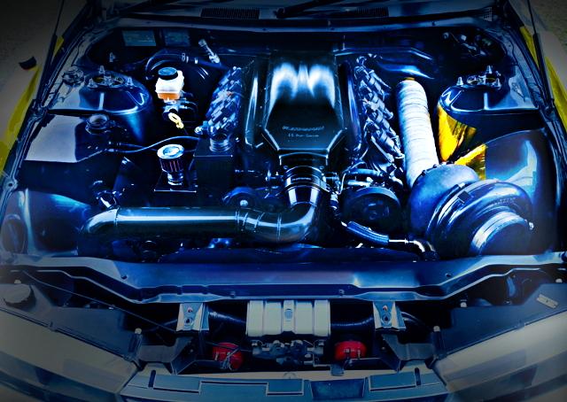 LS3 V8 TURBO ENGINE