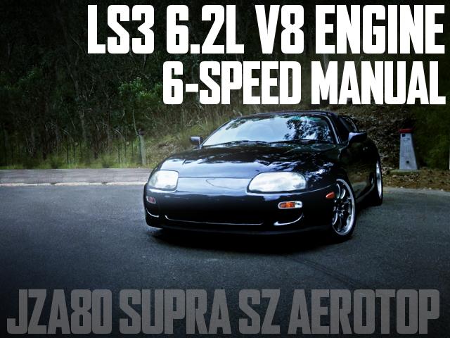 LS3 6200cc V8 SUPRA SZ AEROTOP