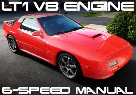 LT1 V8 SWAP FC RX-7 RED