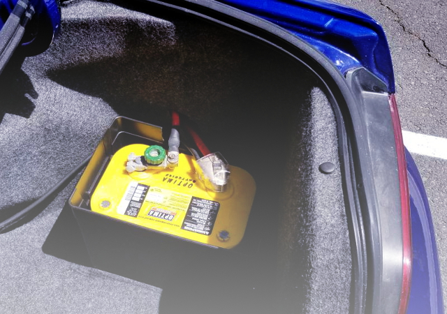 BATTERY RELOCATION TRUNK ROOM