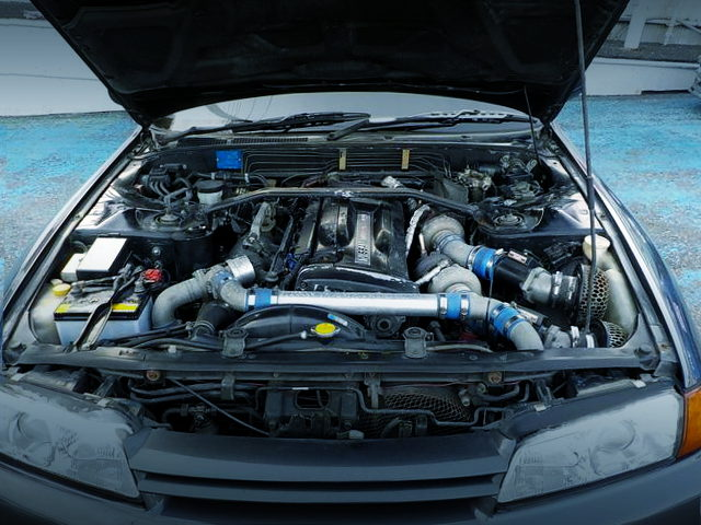 RB26 ENGINE WITH RX6 TWINTURBO