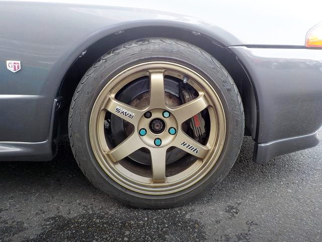 TE37 WHEEL FOR R32 GT-R