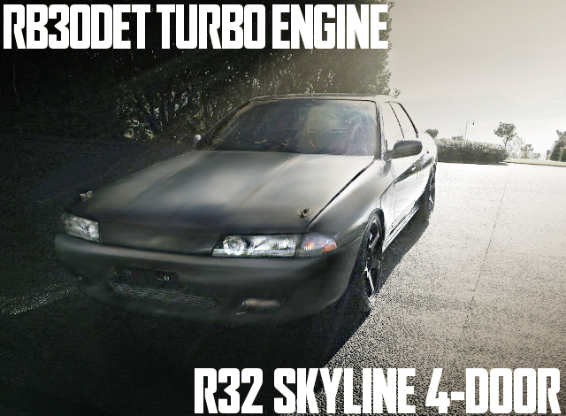 RB30DET TURBO R32 SKYLINE 4-DOOr
