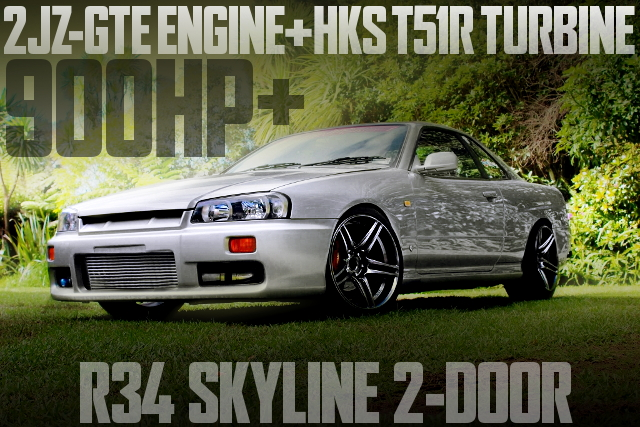 2JZ T51R R34 SKYLINE 2-DOOR