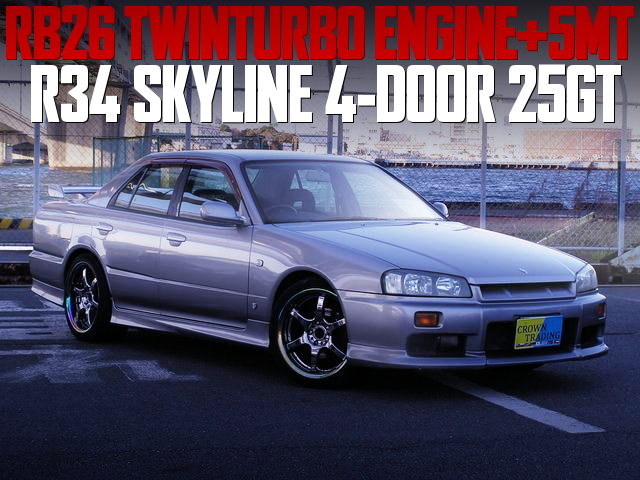 RB26 TWIN TURBO R34 SKYLINE 4-DOOR