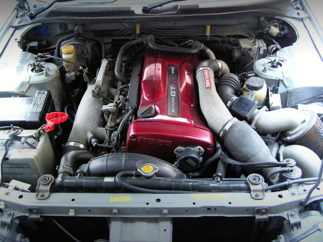 RB26 TWIN TURBO ENGINE