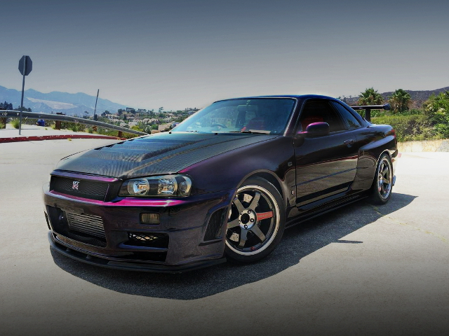 FRONT FACE R34 SKYLINE GT-R REPLICA
