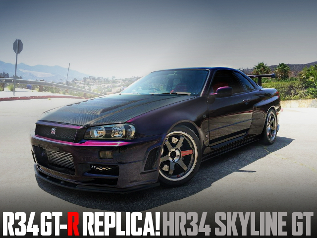 R34GTR REPLICA HR34 SKYLINE GT