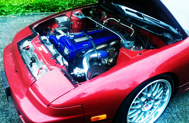 RB20DET TURBO ENGINE OF 240SX