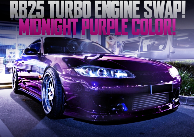 RB25 TURBO SWAP S15 200SX