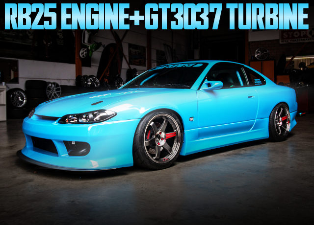 RB25 ENGINE S15 SILVIA SPEC-S