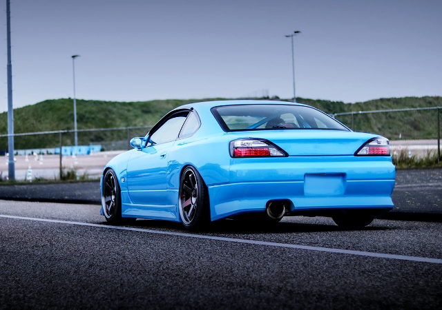 REAR EXTERIOR S15 SILVIA LIGHT BLUE