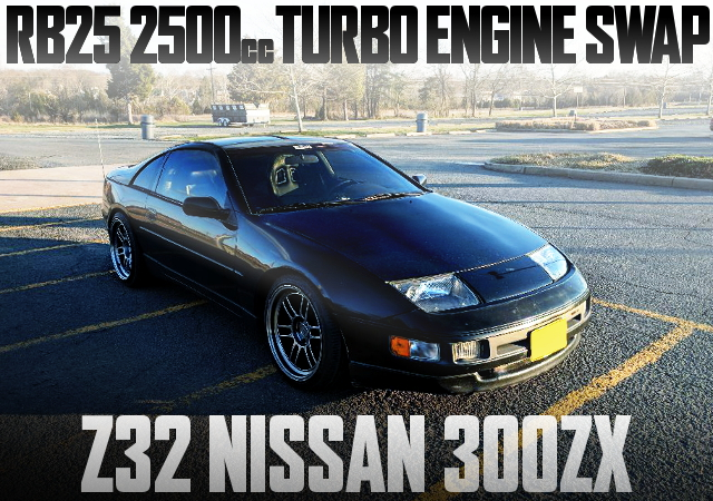 RB25 TURBO ENGINE Z32 300ZX