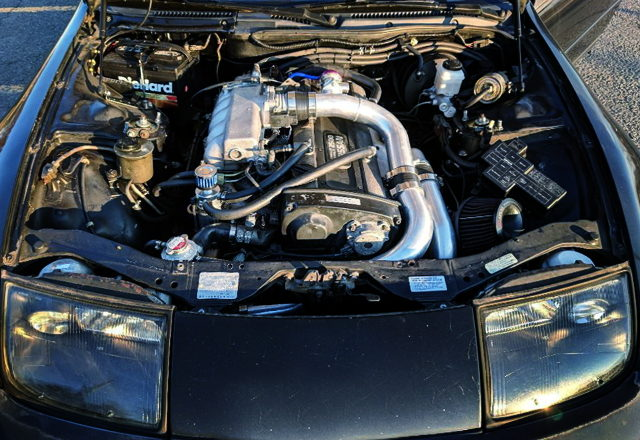 RB25DET TURBO ENGINE IN Z32