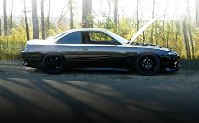 RIGHT SIDE EXTERIOR S14 240SX