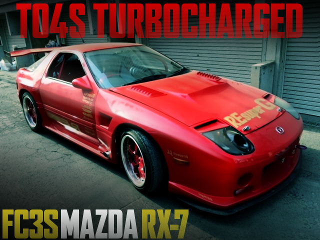 TO4S FC3S RX-7 RE-AMEMIYA