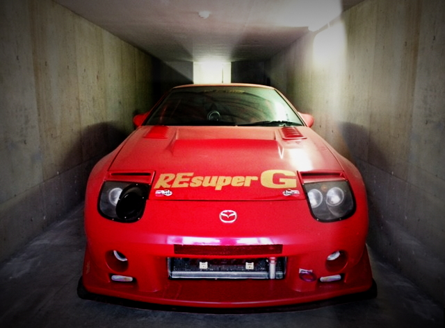 FRONT FACE FC3S RX-7 RE SUPER G