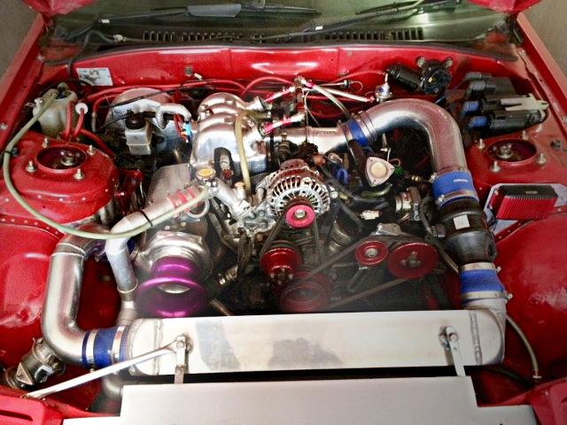 13B-T ROTARY ENGINE