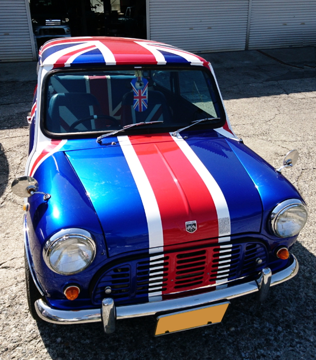 FRONT FACE ROVER MINI