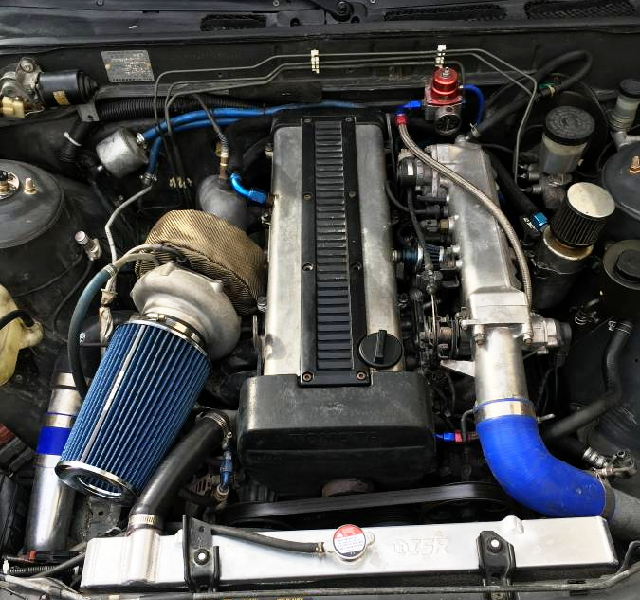 1JZ-GTE ENGINE WITH SINGLE TURBO