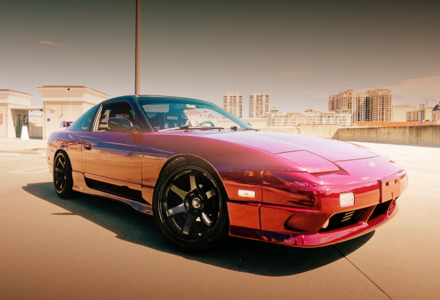 FRONT EXTERIOR 240SX RED