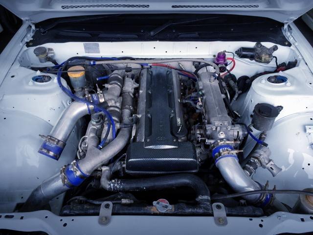 2JZ-GTE TWIN TURBO ENGINE