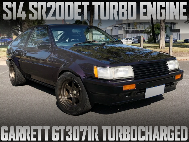 SR20 TURBO AE86 SPRINTER