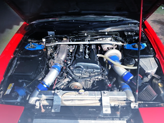 BLACK-TOP SR20DET TURBO ENGINE